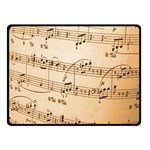 Music Notes Background Double Sided Fleece Blanket (Small)  50 x40 Blanket Back
