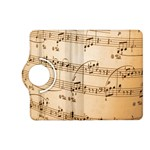 Music Notes Background Kindle Fire HD (2013) Flip 360 Case Front