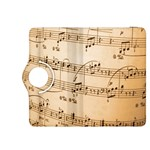 Music Notes Background Kindle Fire HDX 8.9  Flip 360 Case Front