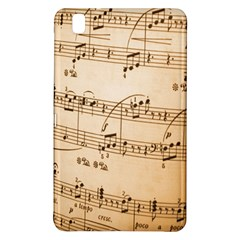 Music Notes Background Samsung Galaxy Tab Pro 8.4 Hardshell Case