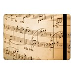 Music Notes Background Samsung Galaxy Tab Pro 10.1  Flip Case Front
