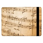Music Notes Background Samsung Galaxy Tab Pro 12.2  Flip Case Front