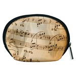 Music Notes Background Accessory Pouches (Medium)  Back