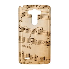 Music Notes Background LG G3 Hardshell Case