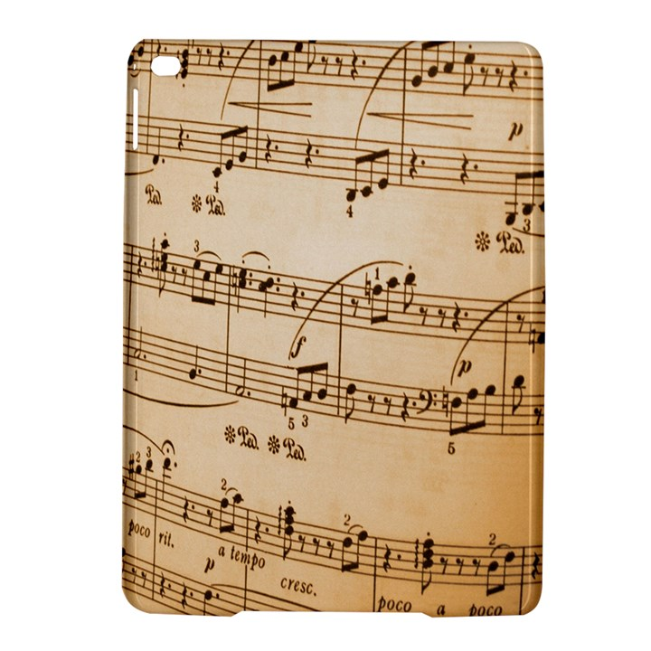 Music Notes Background iPad Air 2 Hardshell Cases