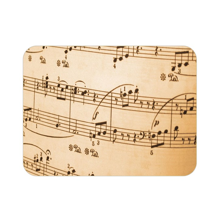 Music Notes Background Double Sided Flano Blanket (Mini)
