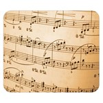 Music Notes Background Double Sided Flano Blanket (Small)  50 x40 Blanket Back