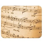 Music Notes Background Double Sided Flano Blanket (Medium)  60 x50 Blanket Front