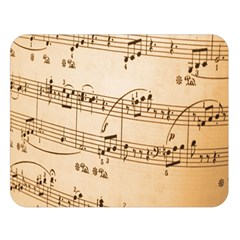 Music Notes Background Double Sided Flano Blanket (Large)