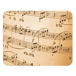 Music Notes Background Double Sided Flano Blanket (Large)  80 x60 Blanket Front
