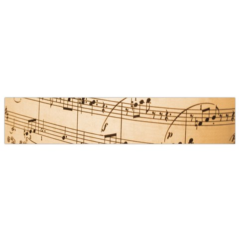 Music Notes Background Flano Scarf (Small)