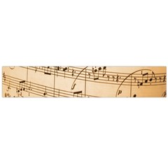 Music Notes Background Flano Scarf (Large)