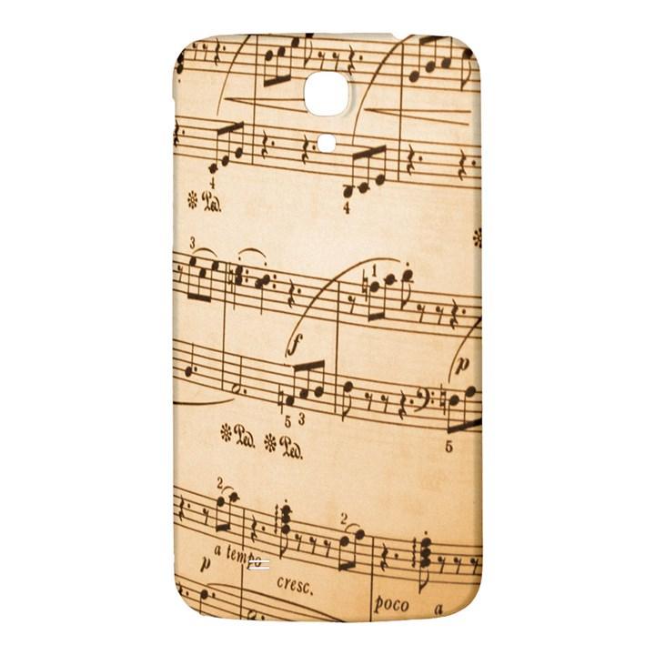 Music Notes Background Samsung Galaxy Mega I9200 Hardshell Back Case