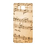 Music Notes Background Samsung Galaxy Alpha Hardshell Back Case Front