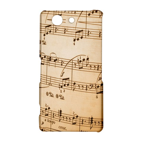 Music Notes Background Sony Xperia Z3 Compact