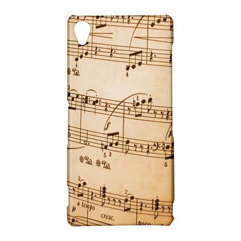 Music Notes Background Sony Xperia Z3