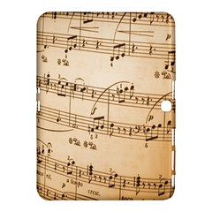 Music Notes Background Samsung Galaxy Tab 4 (10.1 ) Hardshell Case