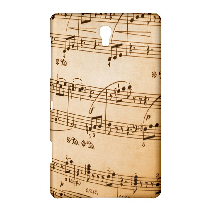 Music Notes Background Samsung Galaxy Tab S (8.4 ) Hardshell Case