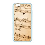 Music Notes Background Apple Seamless iPhone 6/6S Case (Color) Front