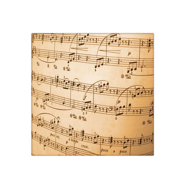 Music Notes Background Satin Bandana Scarf
