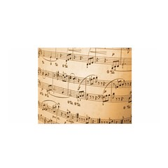 Music Notes Background Satin Wrap