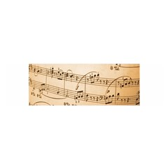 Music Notes Background Satin Scarf (Oblong)