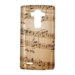 Music Notes Background LG G4 Hardshell Case