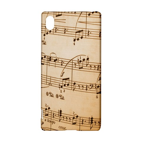 Music Notes Background Sony Xperia Z3+