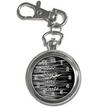 I love black and white Key Chain Watches Front