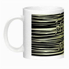 I love black and white Night Luminous Mugs