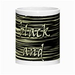 I love black and white Night Luminous Mugs Center