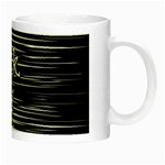 I love black and white Night Luminous Mugs Right