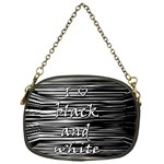 I love black and white Chain Purses (One Side)  Front