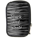 I love black and white Compact Camera Cases Front