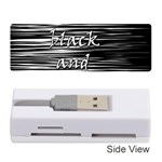 I love black and white Memory Card Reader (Stick)  Front
