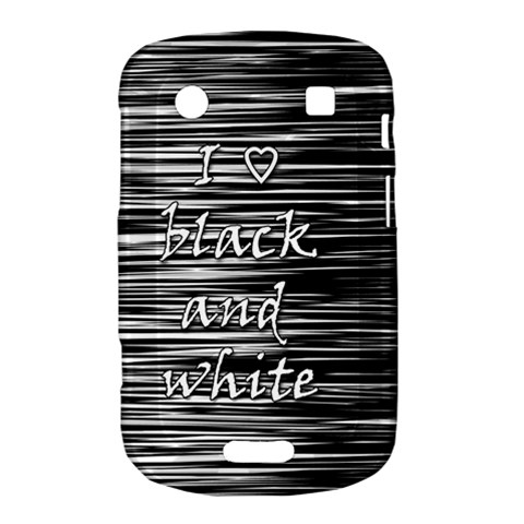 I love black and white Bold Touch 9900 9930