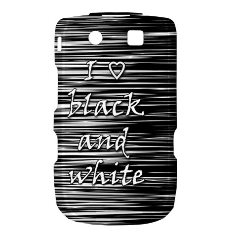 I love black and white Torch 9800 9810