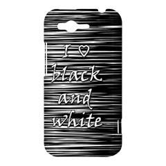 I love black and white HTC Rhyme