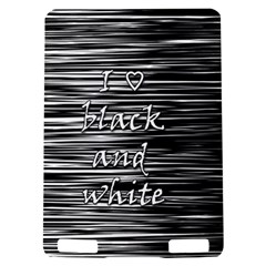 I love black and white Kindle Touch 3G