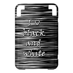 I love black and white Kindle 3 Keyboard 3G