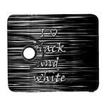 I love black and white Samsung Galaxy S  III Flip 360 Case Front