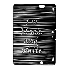 I love black and white Kindle Fire HDX 8.9  Hardshell Case