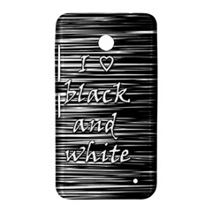 I love black and white Nokia Lumia 630