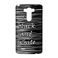 I love black and white LG G3 Hardshell Case