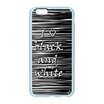 I love black and white Apple Seamless iPhone 6/6S Case (Color) Front