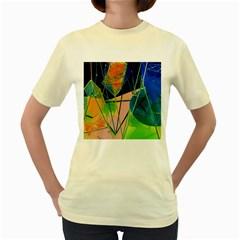 New Form Technology Women s Yellow T-Shirt
