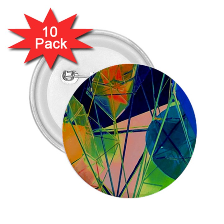 New Form Technology 2.25  Buttons (10 pack)