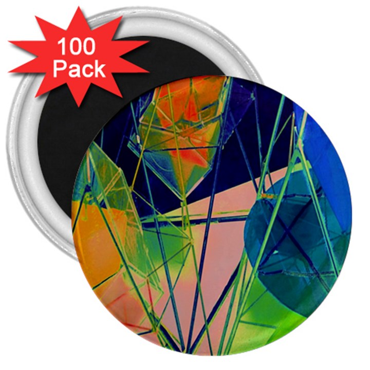 New Form Technology 3  Magnets (100 pack)