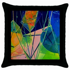 New Form Technology Throw Pillow Case (Black)