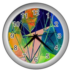 New Form Technology Wall Clocks (Silver)